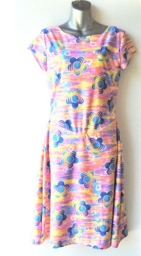Ladies' Size XS - Hip Tropical Flowers