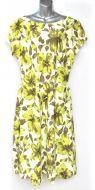 Ladies' Size XXL - Olive Green Hibiscus