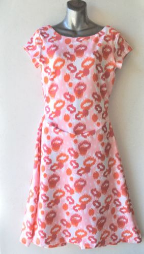 Ladies' Size XXL - Pink and Orange Hugs
