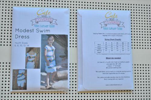 Youth Swimwear Pattern (6, 8, 10, 12, 14)